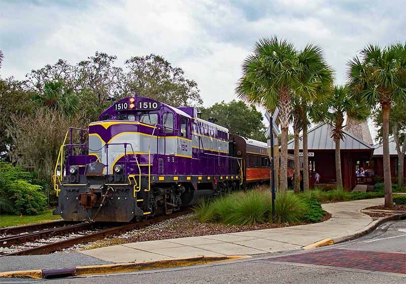 The Royal Palm Railway Exprerience at Wooton Park
